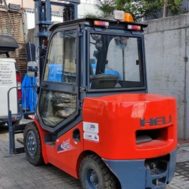 Wózek - używane Heli CPCD35-WS1H diesel
