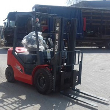 Wózek LPG Heli CPQD25-RcH