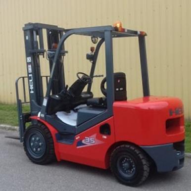 Wózek LPG Heli CPQD35-Rc1H